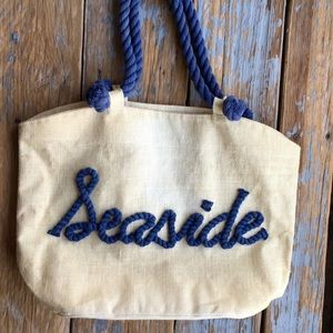 Mud Pie Seaside Beach Tote